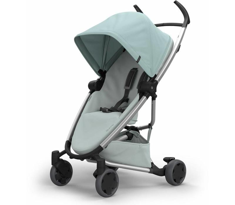 Quinny Zapp Flex Stroller With Folding Seat In Frost On Grey