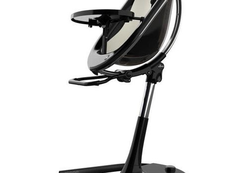 Mima Kids Mima Kids Moon 2G 3-in-1 Highchair In Black- Snow White