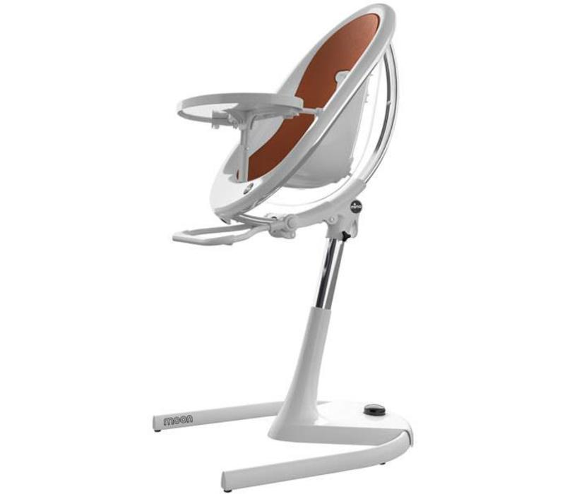 Mima Kids Moon 2G 3-in-1 Highchair In White- Camel