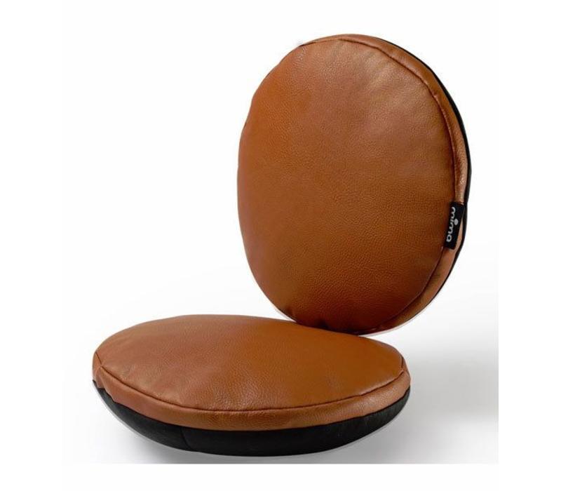 Mima Kids Moon Junior Chair Cushion Set In Camel