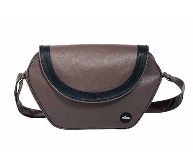 Mima Kids Trendy Changing Bag In Chocolate