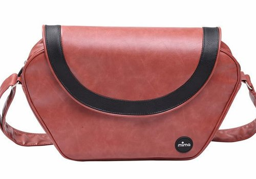 Mima Kids Mima Kids Trendy Changing Bag In Sicilian Red