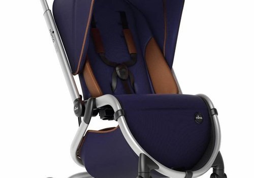 Mima Kids Mima Zigi Stroller In Midnight Blue