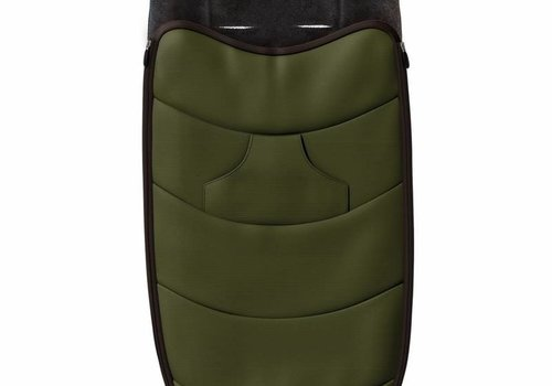 Mima Kids Mima Zigi Footmuff In Olive Green