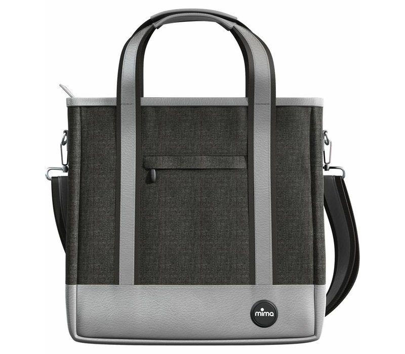 Mima Zigi Changing Bag In Charcoal