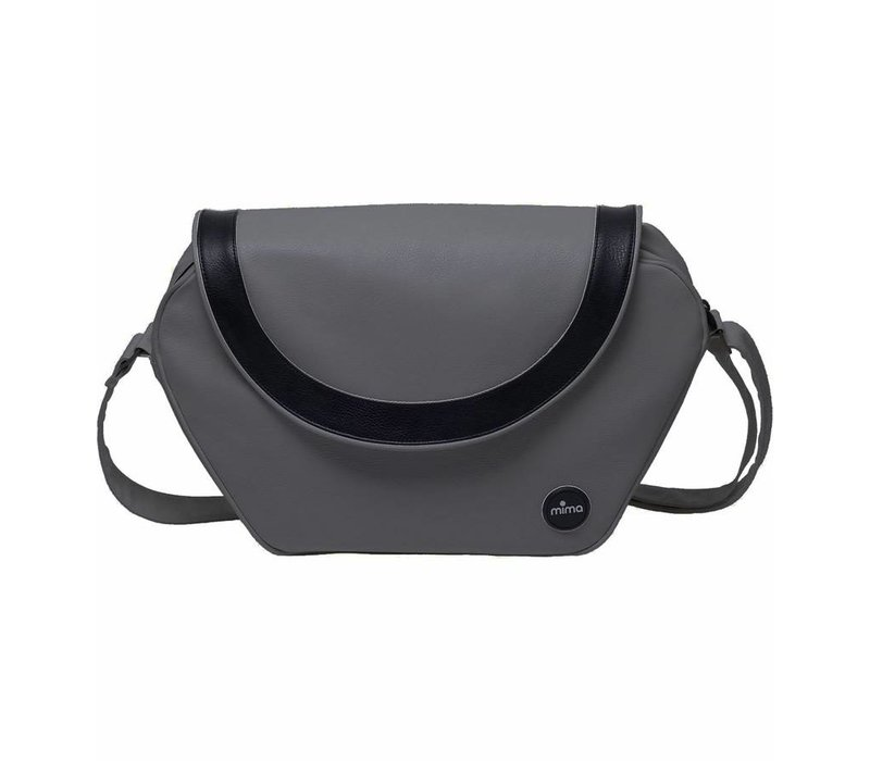 Mima Kids Trendy Changing Bag In Cool Grey