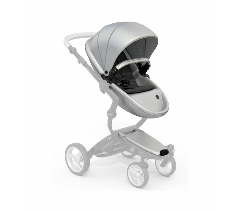 Mima Kids Xari Seat Kit In Argento Silver