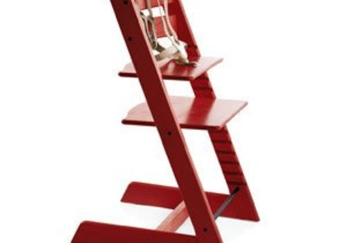 Stokke Stokke Tripp Trapp Classic Highchair In Red