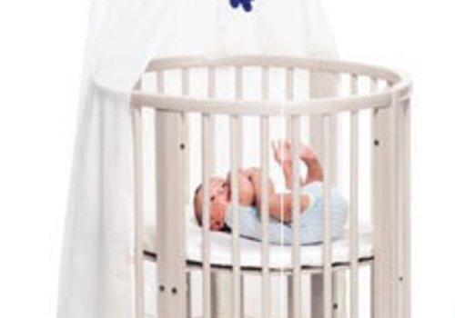 Stokke Stokke Sleepi Mini Bundle In White With Mattress Includes Drape Rod