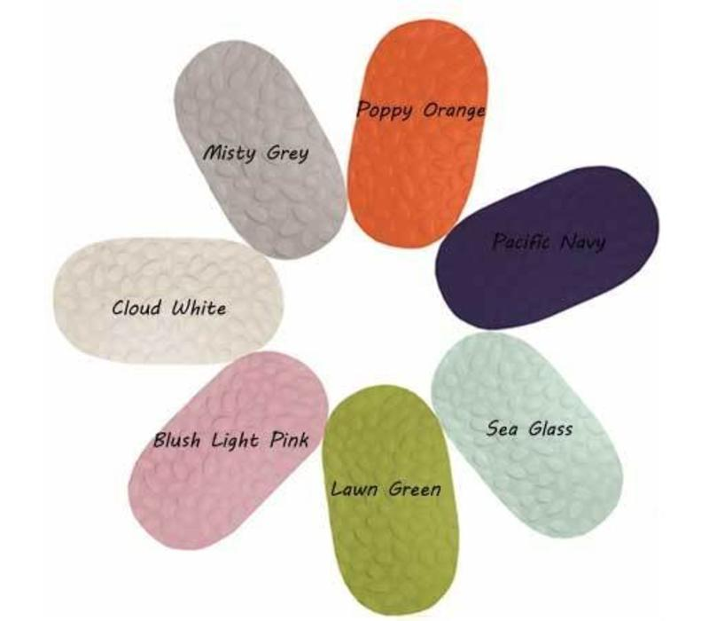 Nook Stokke Oval Sleepi Crib Mattress Cover In Misty Grey