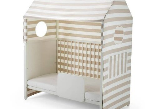 Stokke Stokke Home Bed Roof In Beige Stripe