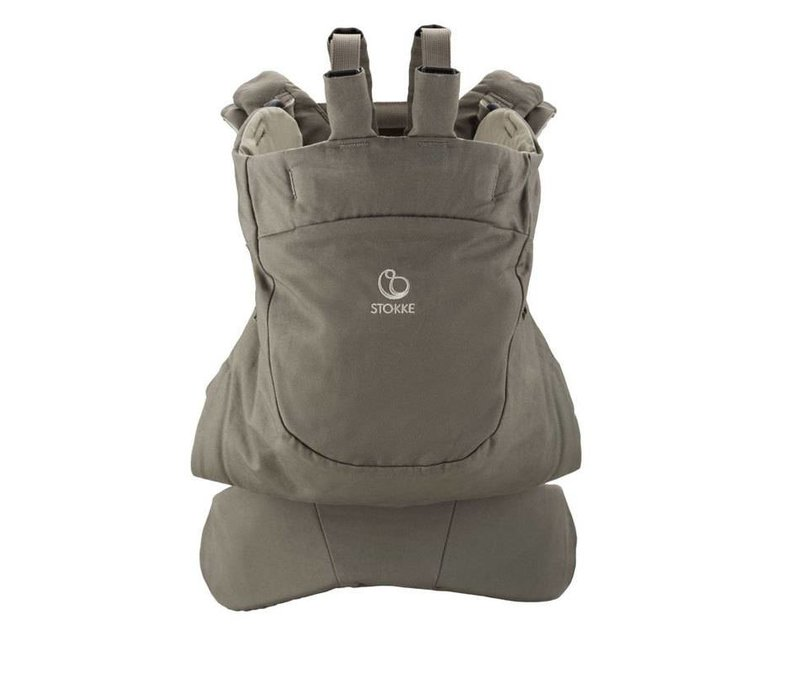 Stokke MyCarrier Front And Back Carrier In Brown