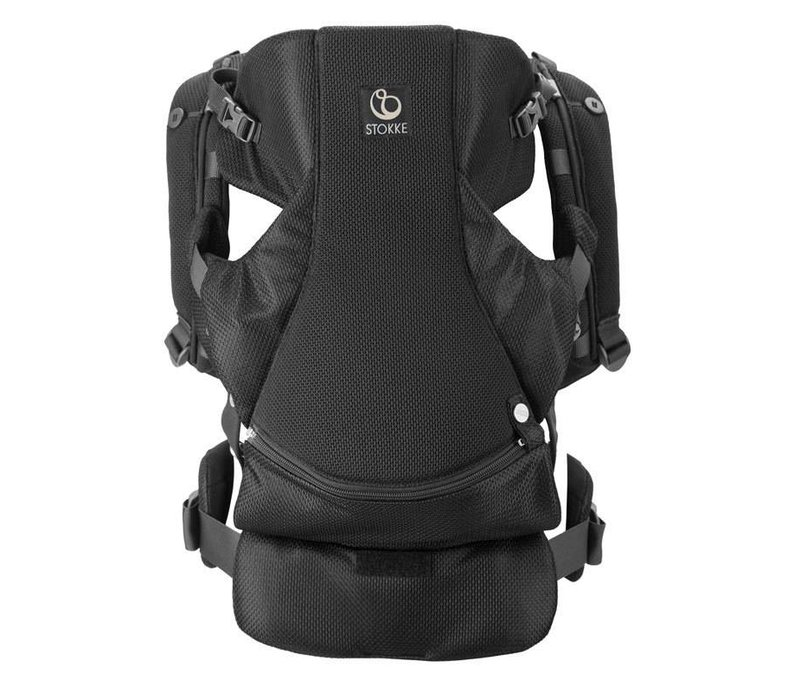 Stokke MyCarrier Front Carrier In Black Mesh