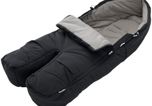 Stokke Stokke Xplory, Crusi Or Trailz Footmuff In Black For Seat
