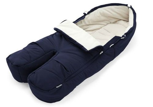 Stokke Stokke Xplory, Crusi Or Trailz Footmuff In Deep Blue For Seat