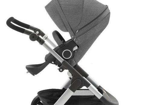 Stokke Stokke Trailz Stroller With Terrain Wheels In Black Melange