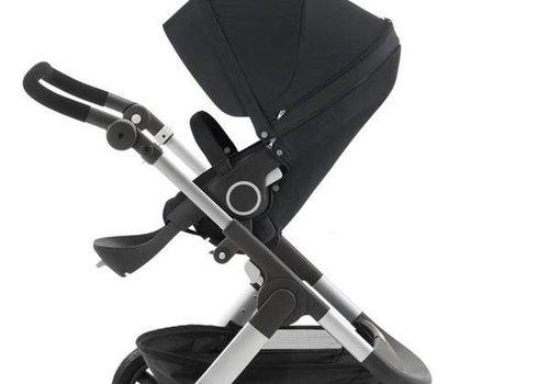 Stokke 2017 Stokke Trailz Aluminum Frame Stroller With Terrain Wheels In Black