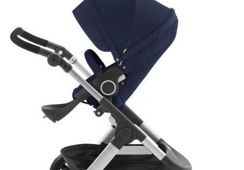 Stokke Stokke Trailz Stroller With Terrain Wheels In Deep Blue
