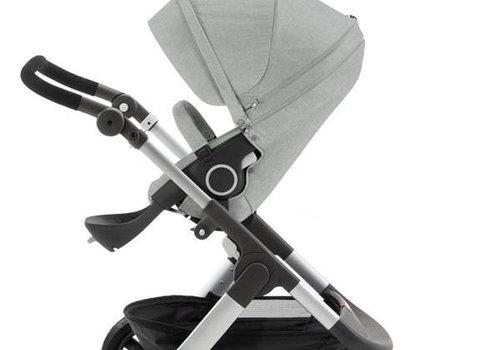 Stokke Stokke Trailz Stroller With Terrain Wheels In Grey Melange