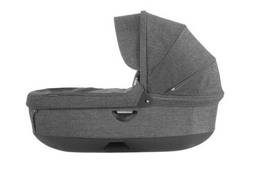 Stokke Stokke Crusi And Trailz Carrycot In Black Melange