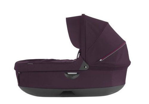 Stokke 2017 Stokke Crusi And Trailz Carrycot In Purple