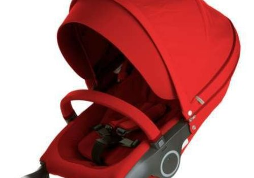 Stokke Stokke Xplory Or Crusi Seat Complete In Red- Seat With Style Kit Set
