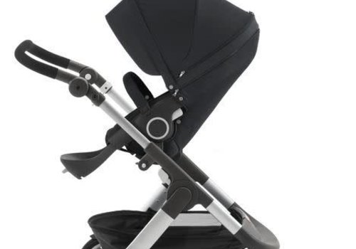 Stokke 2017 Stokke Trailz Aluminum Frame Stroller With Classic Wheels In Black
