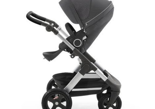 Stokke Stokke Trailz Stroller With Terrain Wheels In Grey Athleisure