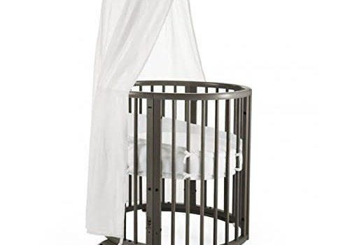 Stokke Stokke Sleepi Mini Bundle In Hazy Grey With Mattress Includes Drape Rod