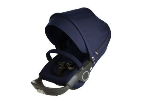 Stokke Stokke Xplory Or Crusi Seat Complete In Deep Blue- Seat With Style Kit Set