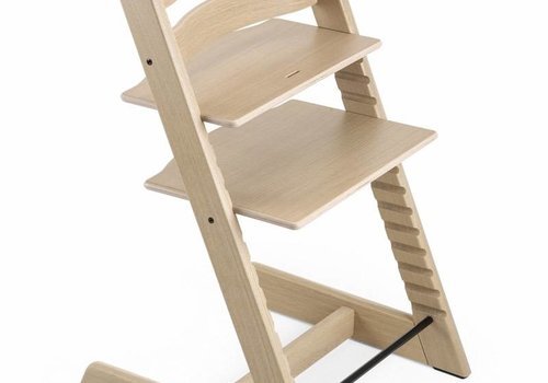 Stokke Stokke Tripp Trapp Classic Highchair In Oak-White