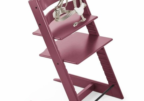 Stokke Stokke Tripp Trapp Classic Highchair In Heather Pink