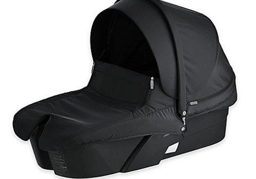 Stokke Stokke Xplory Carrycot In Black Frame-Black Fabric
