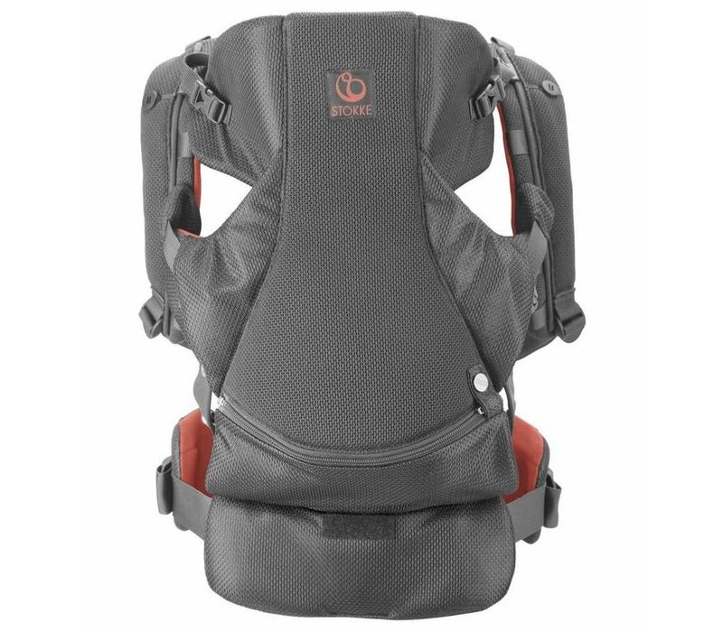 Stokke MyCarrier Front And Back Carrier In Coral Mesh