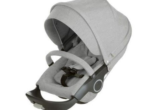 Stokke Stokke Xplory Or Crusi Textile Set In Grey Melange  (Fabric Only)