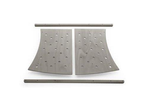 Stokke Stokke Junior Bed Expansion Kit Without Junior Mattress In Hazy Grey