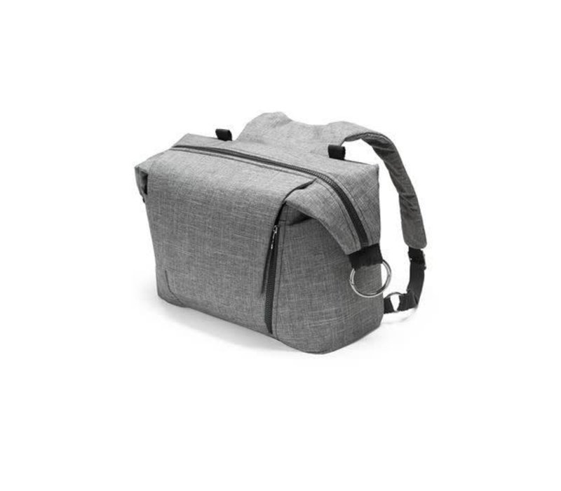 Stokke Universal Changing Bag In Black Melange