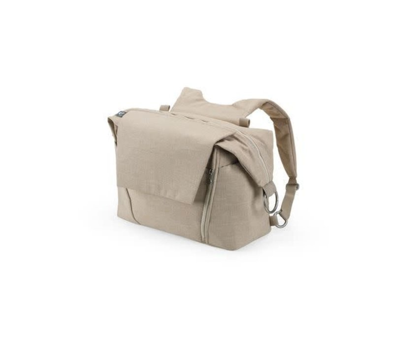 Stokke Universal Changing Bag In Beige Melange
