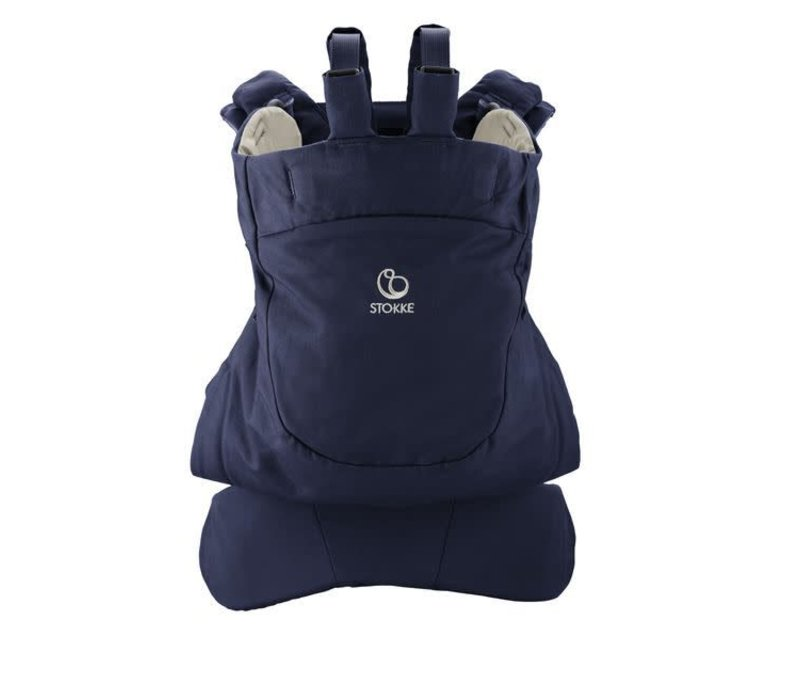 Stokke MyCarrier Back Carrier In Deep Blue