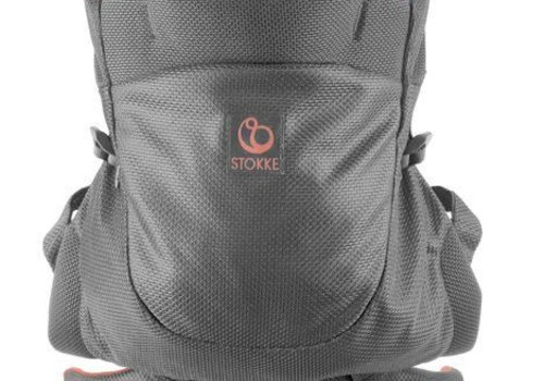 Stokke Stokke MyCarrier Back Carrier In Coral Mesh