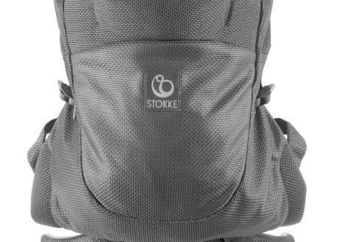 Stokke Stokke MyCarrier Back Carrier In Grey Mesh