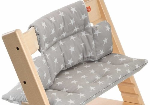 Stokke Stokke Tripp Trapp Cushions In Grey Star (Coated)