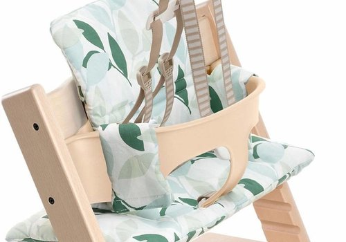 Stokke Stokke Tripp Trapp Cushions In Green Forest (Coated)
