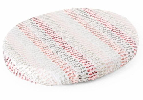 Stokke Stokke Sleepi Mini (Bassinet) Fitted Sheet In Coral Straw