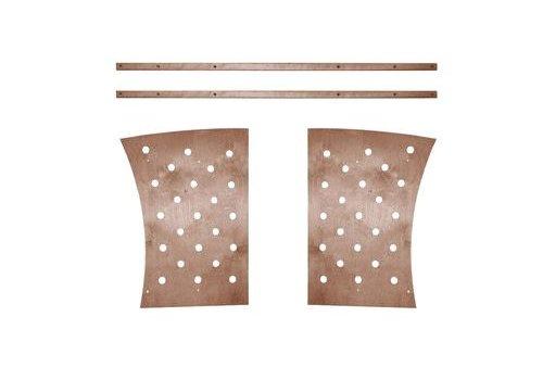 Stokke Stokke Junior Bed Expansion Kit Without Junior Mattress In Walnut
