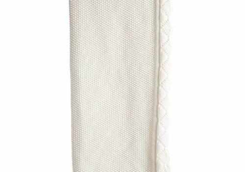 Stokke Stokke Sleepi Knitted Blanket In Classic White