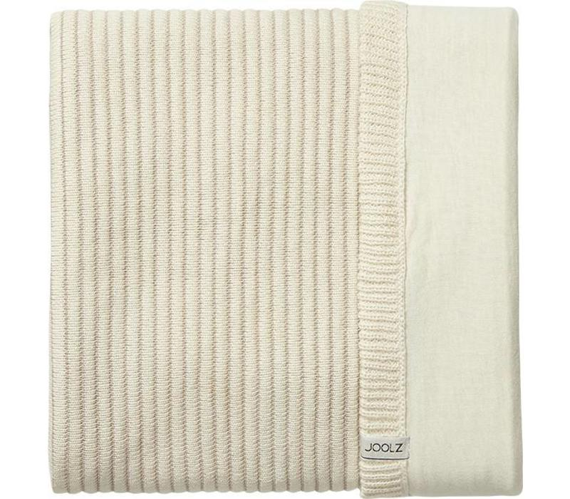 Joolz Essentials Ribbed blanket  Off-white