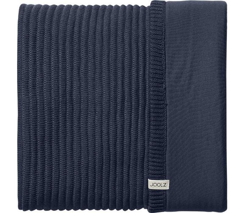 Joolz Essentials Ribbed blanket  Blue