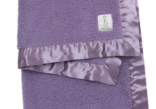 Little Giraffe Little Giraffe Bella Blanket in Lavender