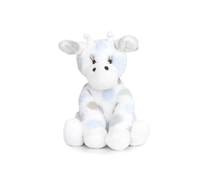 Little Giraffe Luxe Dot Plush Little Giraffe In Blue